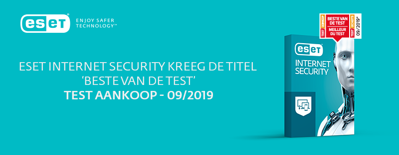 ESET Internet security beste van de test - Test Aankoop